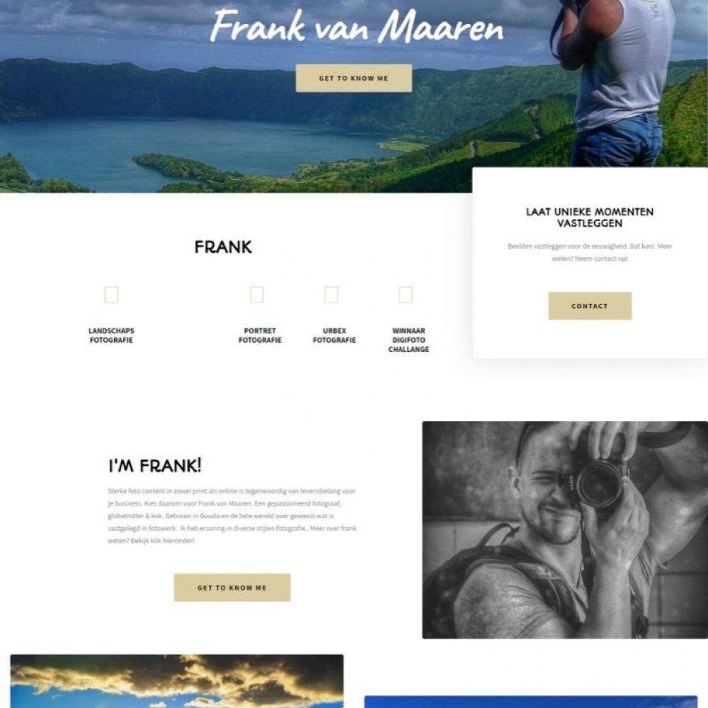 Niels van Steenis portfolio frank van maaren